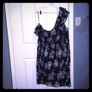Floral dress torrid size 4